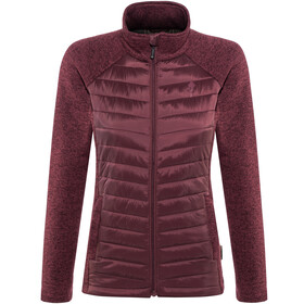 Pinewood Gabriella Padded Jacket Women Dark Burgundy